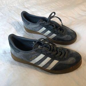 Dusty Blue Gazelle Sneakers